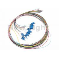 China LC / UPC SM 12 Core Single Mode Fiber Optic Cable Color Coded Fiber Optic Pigtail wholesale