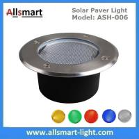 Buy cheap Φ130x60mm Round Solar Paver Lights Maintenance Free Solar Brick Lights Solar from wholesalers
