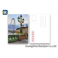 China The London Eye Pattern Lenticular Postcards , 3D Lenticular Card Tear - Proof wholesale