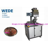 China 32 Digit RISC Copper Coil Making Machine , Blue Screen Heater Coil Winding Machine on sale