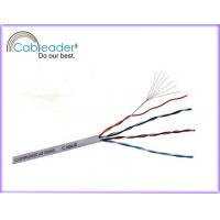 China 10 Gbps 4 pairs copper, HDPE insulation UTP Cat5e Network Cables pass FLUKE test on sale