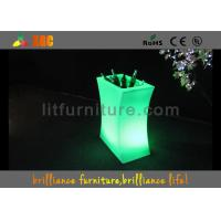 China LED Ice Bucket Or Wine Cabinet , Modern Wine Cabinet With  Remote Control wholesale