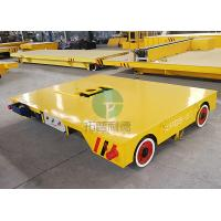 China Workshop Bay To Bay Material Transport Mold Moving Electric Motorized Transfer Car Truck wholesale