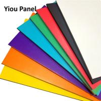 China YIOU Digital Printing PS Foam Board Colored For Advertising / Decoration on sale