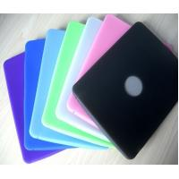 China Purple / Black / Green / Pink / Blue Ipad Silicone Skin Case, Silicon Cover OEM / ODM on sale