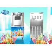 China UL328 Floor Standing Soft Serve Freezer With 18-25L/H Hourly production , Low Noisy wholesale