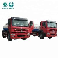 Convenient Farm Water Tanker Vehicle , Radial Tyre Water Transport Truck