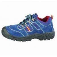 China PU Injected Leather Safety Shoes wholesale
