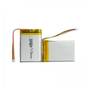 China Discharge Protection Small Lipo Battery 3.7 V 1050mAh KPL603450 wholesale