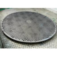 China 0.4mm Thickness Round Hole  Perforated Metal Mesh 2m Length 1m Width wholesale