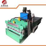 China Automatic Zinc Glazed Tile Making Machine 840 Model For Exhibition Halls wholesale