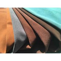 China Recycled Eco Friendly Leather Fabric With Warp Knitting Fabric Backing wholesale