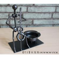 Quality iron ashtray craftwork Decoration for sale