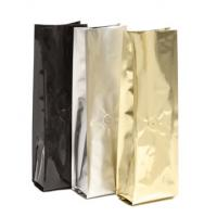 China Glossy Finish Bottom Gusset Coffee Packaging Bags With Zipper / Valve wholesale