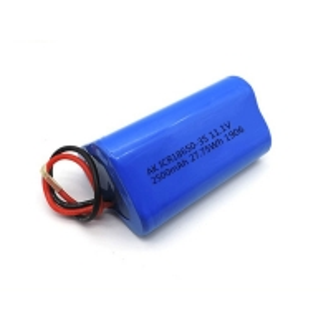 China 2500mAh 12V Rechargeable Panasonic 18650 Lithium Ion Battery wholesale