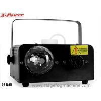 China Disco LED Smoke Machine With 3 * 3W Red / Green / Blue LED Ball  For Party X-02 wholesale