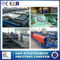 China Cable Tray Ladder Making Cold Roll Forming Machine, Cable Tray Making Machine 1 ~ 3mm Thick wholesale