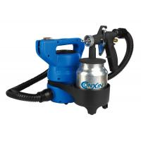 China 80 din / sec HVLP Electric Spray Gun , Portable Paint Spray Gun HVLP 650W 110V 230V wholesale
