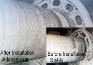 China Boltless Ball Mill Lining For Coal Mill , Cement Mill , Mine Mill wholesale