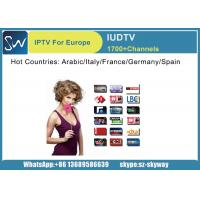 China IUDTV Iptv Subscription 1 year with Live TV Sports Channels Sky Channels IPTV Account Europe on sale