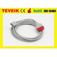 China GE Utah IBP Adapter Cable 11 Pins For Invasive Blood Pressure Monitoring Device wholesale