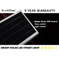 China Outdoor 3000~3300LM 30W Integrated Solar Street Light With 5 Years Warranty For Government Project wholesale