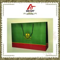China OEM Logo Printed Fashion Paper Carrier Bag , Colorful custom retail shopping bags wholesale