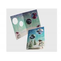 China Eco Friendly Lenticular Card Printing / Holiday Lenticular 3d Greeting Cards wholesale