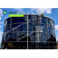 China Glass Fused Steel Roof Stainless Steel Bolted Tanks / Industrial Water Tanks on sale