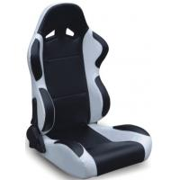 China Black And Grey Racing Seats Fully Reclinable + Slider Universal 1 Pair Jbr 1004 Series wholesale
