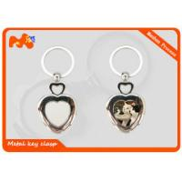 China Zinc Alloy Sublimation Keychain Blanks For Christmas Party Decorations wholesale
