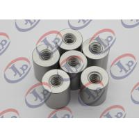 China 6061 T6 Metal Machined Parts  Anodizing Flat Head Aluminum Nuts With M5 Threaded wholesale