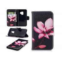 China Black iPhone 7 Plus Wallet Phone Cover With Magnetic Print PU Leather on sale