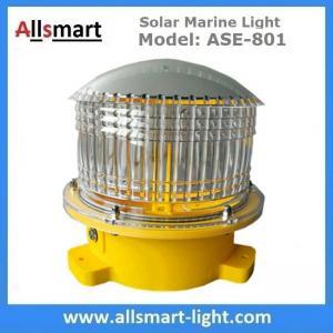 China 4NM 20LED Solar Marine Buoy Lantern Light Aviation Signal Warning Lights for Boat Aquaculture Ports Harbors Offshore wholesale