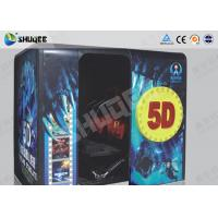 China Electronic Red / Black 5D Movie Theater Kino With More Than 500 Pecice Films wholesale