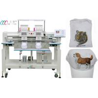 China Double Head Multi Needle Computerized Embroidery Machine for Uniform / Robes wholesale