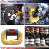 Buy cheap transformer coil winding machine for silicone rubber insulator from wholesalers