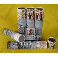 Perfume Paper Recycling Containers / Custom Paper Tube Containers