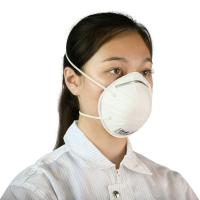 Buy cheap Disposable N95 PM 2.5 FFP2 Anti Pollution Respirator Face Mask For Industrial from wholesalers
