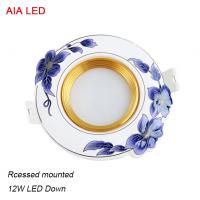 Quality Good China 12W LED interior IP40 ceramic LED down light in home decoration for sale