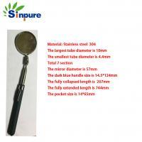 China Sinpure OEM  Stainless Steel 304 Telescopic mirror for car repair wholesale