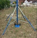 China teleskopski jarbol potable telescopic 9 meters high portable high aluminum tube mast antenna tower wholesale