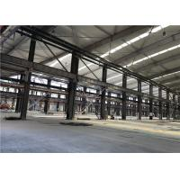 China Prefabricated Metal Sheet Steel Structure Building With Rolling Or Sliding Door wholesale