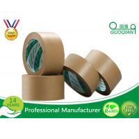 China Corrugated Gummed Kraft Paper Tape With 2.5 Inches X 600 Feet wholesale