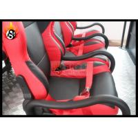 China 19 Inch LCD 7D CDigital Cinema System with Hydraulic Motion Seat for 9 People wholesale