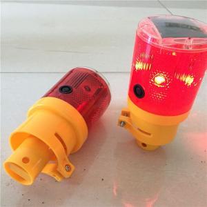 China Wholesale Blinking LED Solar Warning Barricade Lights/Barricading Lamps on sale