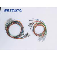 Buy cheap Portable Coated Gold / AgCl / Pure Silver / Sintered EEG Electrode Cables For Clinica from wholesalers