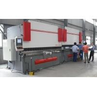 China High Accuracy Sheet Metal Hydraulic Shearing Machine CNC Press Brake with Italy CNC System wholesale