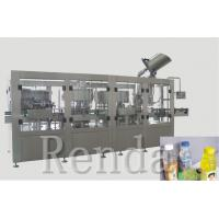 China 2500 * 2000 * 2200mm Rinsing Filling Capping 3-In-1 Water Filling Machine wholesale