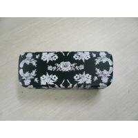 China Custom Safety Clamshell Eyeglass Case PU / PVC / Cloth Outside Material wholesale